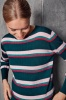 Byoung Nian Stripe Jumper