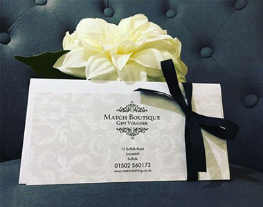 Match Clothing Gift Vouchers