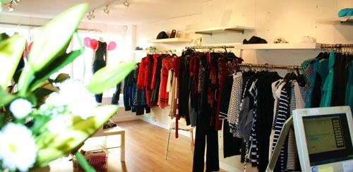 Inside Match Clothing Shop