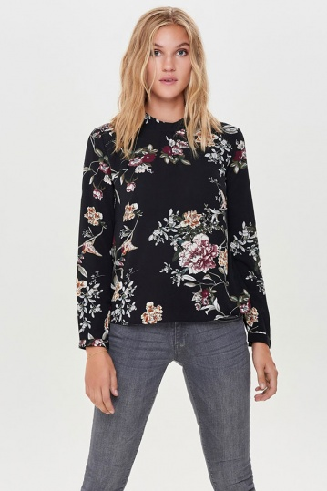 Only Mallory Flower Print Blouse