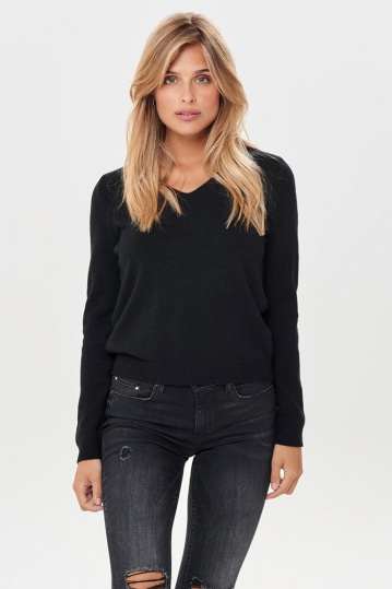 Only Queen V Neck Jumper