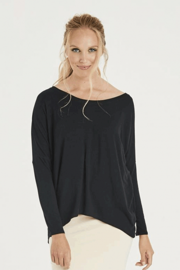 A Postcard From Brighton Karma Top in Black