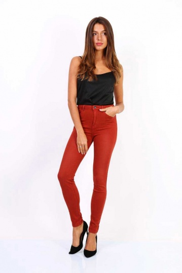 Toxik AlIce Burnt Orange Jean