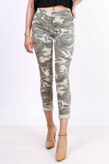 Toxik Camouflage Jeans
