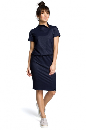 Tara Side Zip Denim Dress
