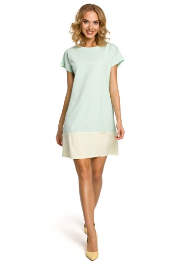 Alexa  Colour Block  Shift Dress