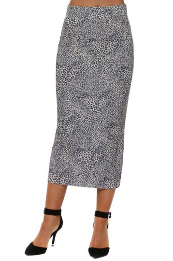 A Postcard From Brighton Leona Skirt in Grey