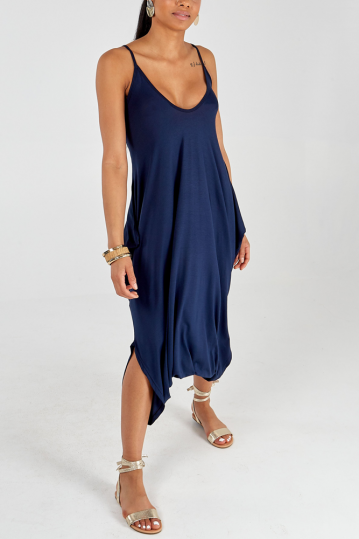Andy Harem Jumpsuit in Navy