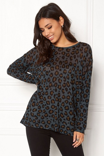 Byoung Osla Animal Print Jumper