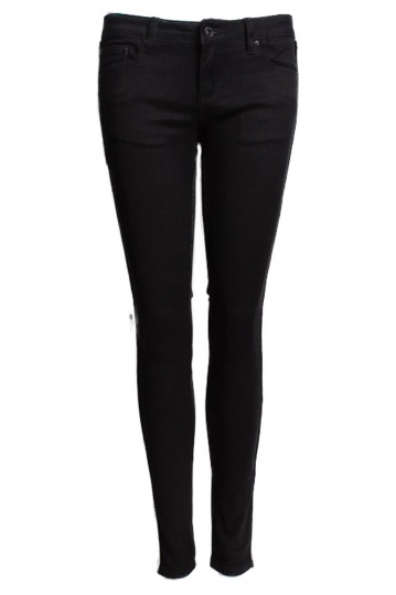 Toxik Side Gold Piping Black Skinny Jeans