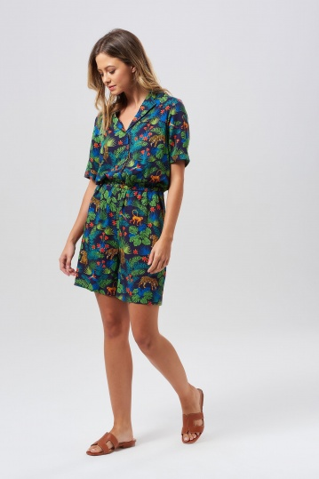 Sugarhill Brighton Clara Jungle Playsuit