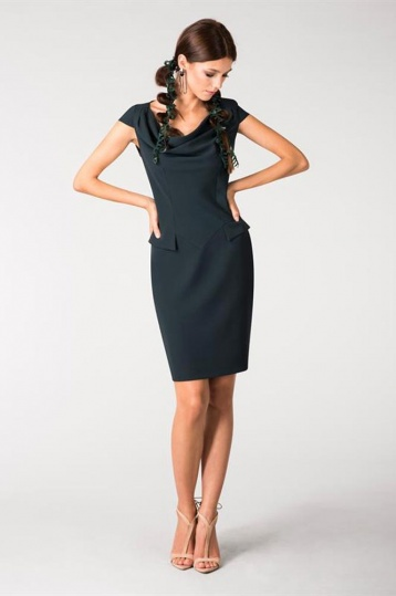 Closet Front Pocket Pencil Dress