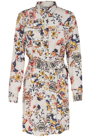 Only Betty Floral Shirt Dress