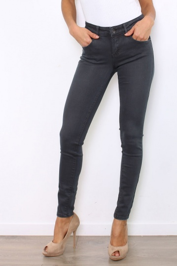 Toxik High Waisted Skinny Grey Jeans