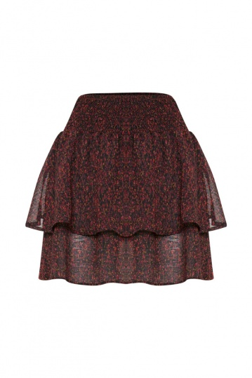 ICHI Almia Layered Skirt