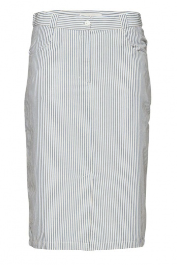Ichi Dido Striped Pencil Skirt