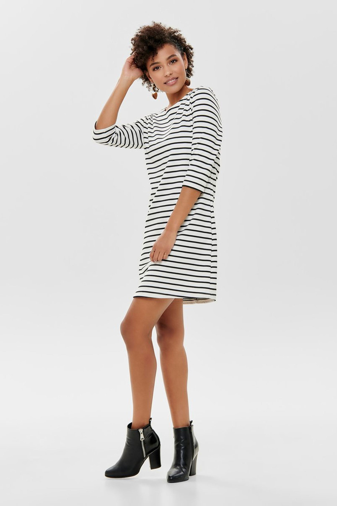 Only Brilliant Breton Stripe Dress