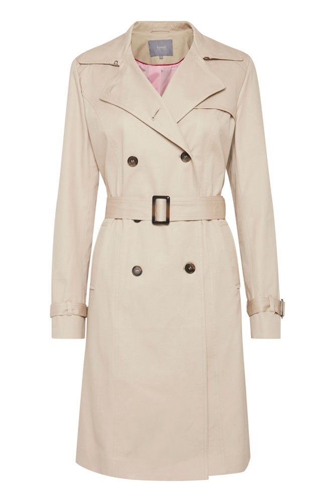 B Young Abby Trench Coat