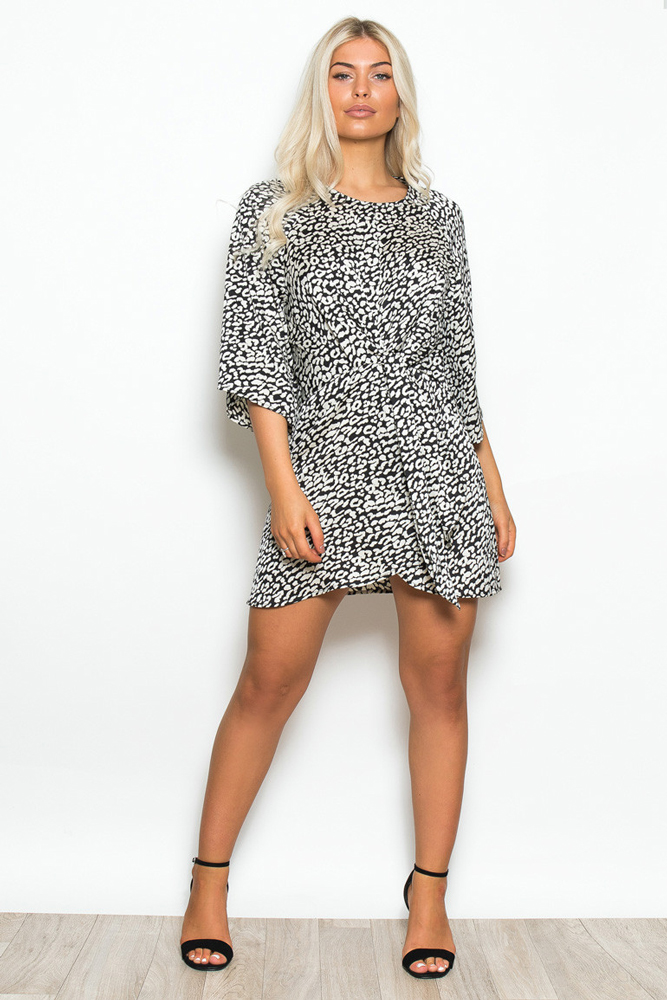 Annabelle Leopard Shift Dress