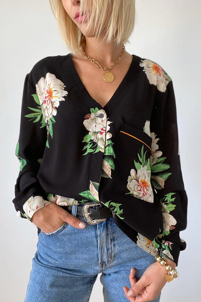 Sorrento Floral Blouse