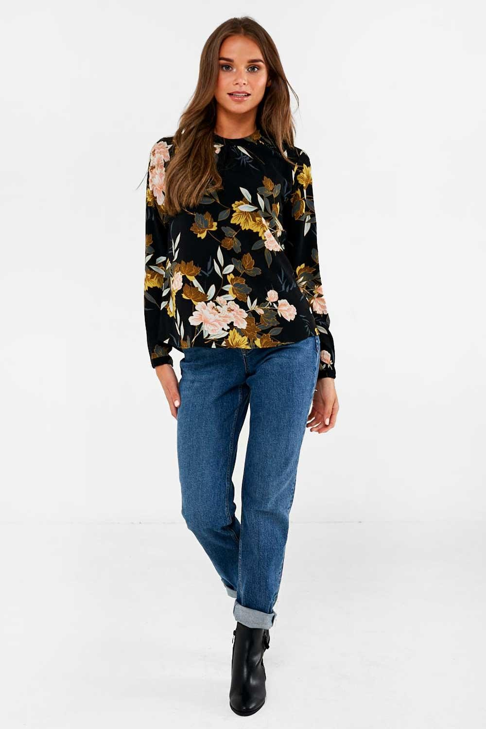 Only Mallory Print Blouse