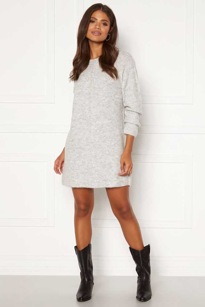 Only Carol Long Sleeve Knitted Dress