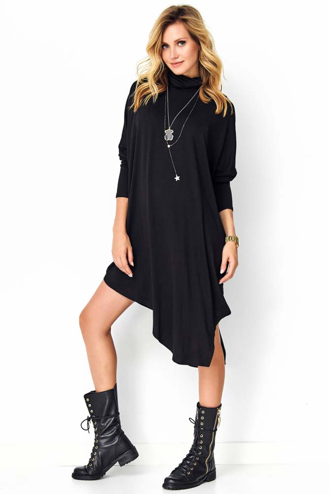 Hania Asymmetric Tunic Dress