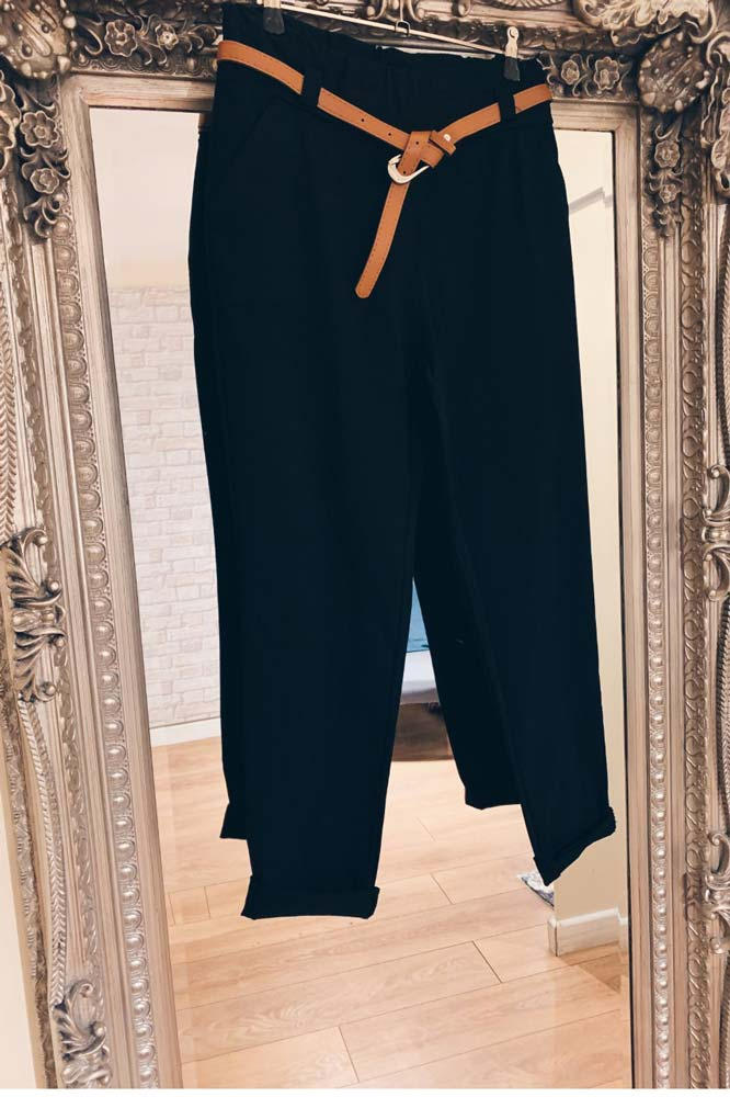 Connie Stretch Belted Trouser