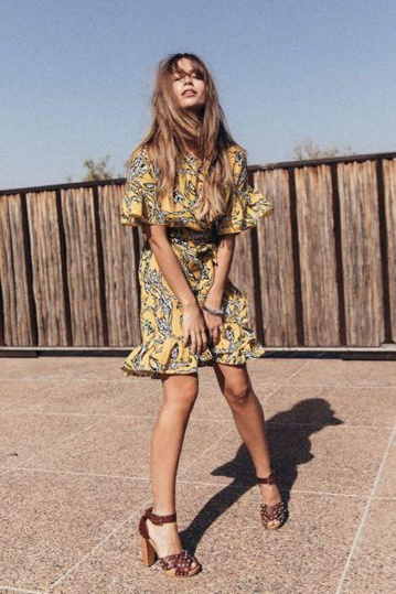 Never Fully Dressed Marrakech Harvest Dress