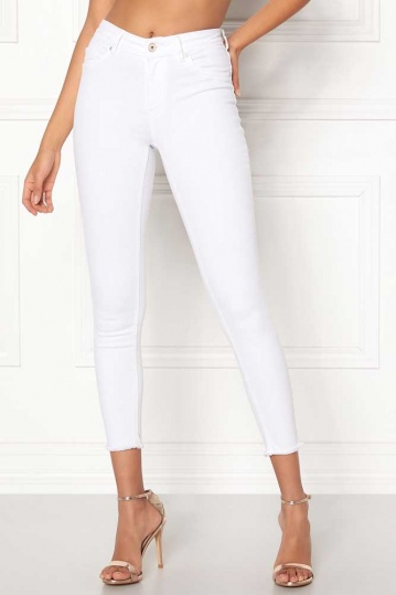 Only Blush White Jeans