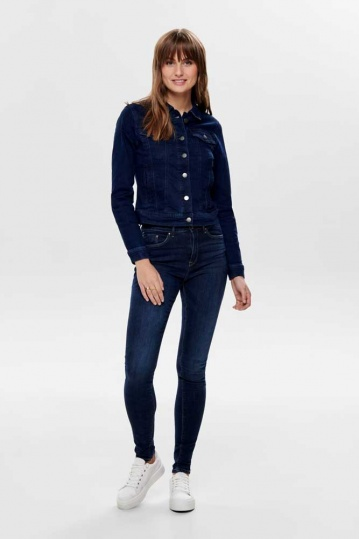 Only Paola Skinny Dark Denim Jean