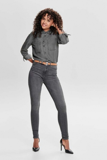 Only Paola Skinny Grey Jean