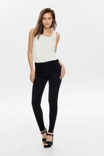 Only Paola Skinny Black Jean