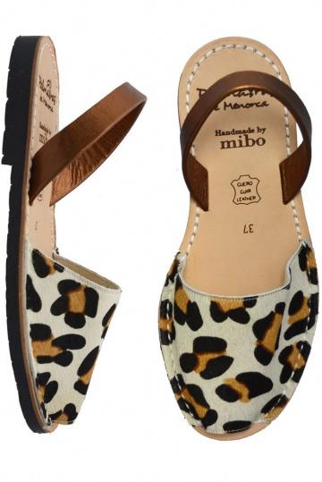 f6167bdb5b4c Palmaira Leopard Shira Bronze Leather Sandals