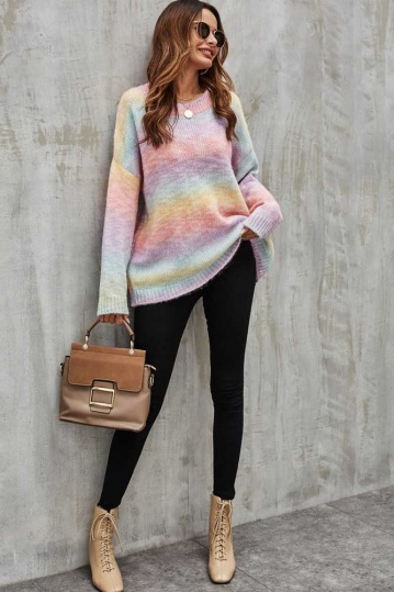 Queenie Rainbow Jumper