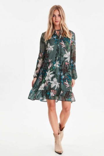 B.Young Hale Floral Dress