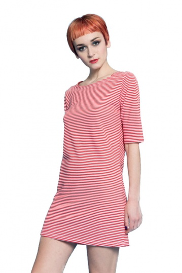 Silvian Heach Ligosullo Striped Tunic Dress