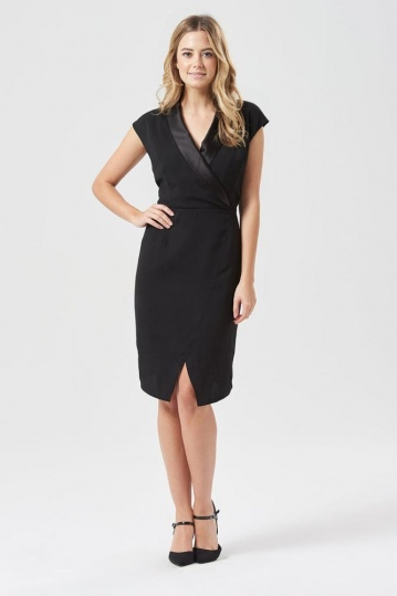 Sugarhill Boutique Amity Tuxedo Dress