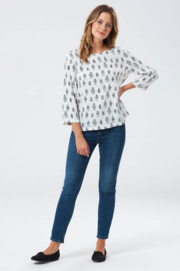 Sugarhill Brighton Maya Robo Pop Top